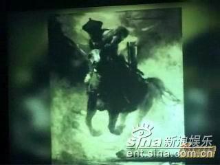 资料图片:《投名状》宣传片中的《猛将军》