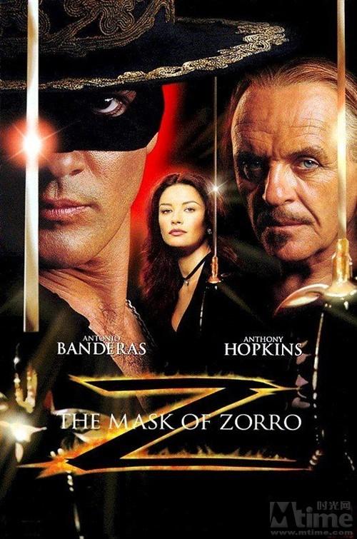 美国电影《佐罗的面具》(10月19日22:09)