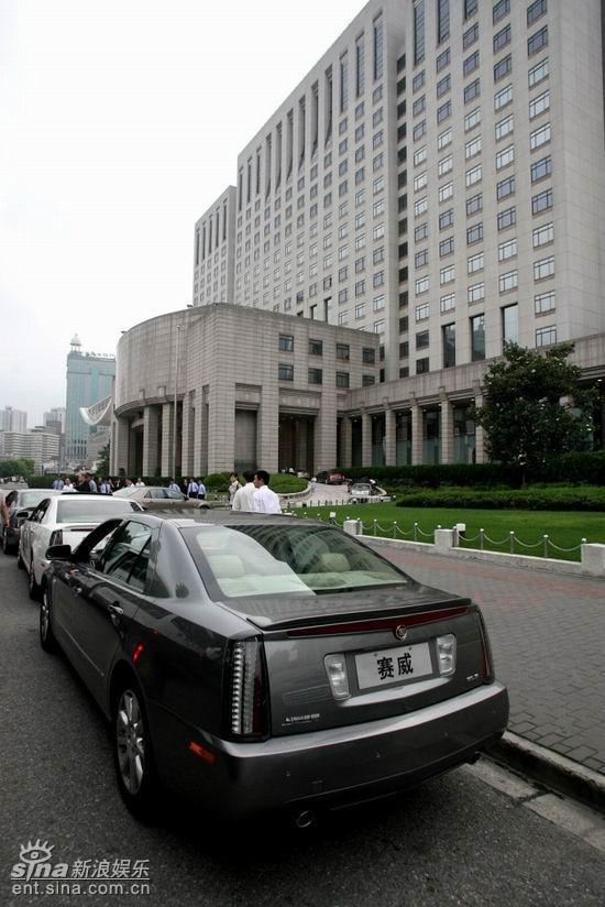 上海国际电影节隆重开幕豪华名车倾情携手相助