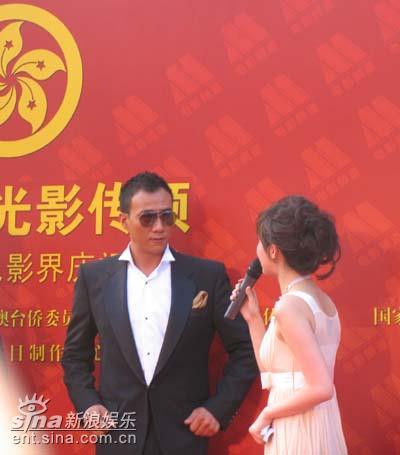 胡军从《赤壁》赴电影界联欢庆贺香港回归十年