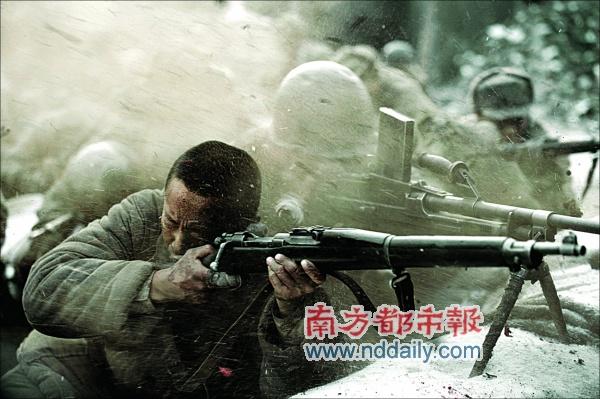 《集结号》场面震撼香港放映有人掉泪有人叹惜