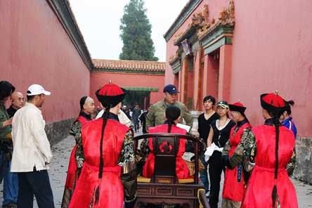 故宫皇极殿首次为《梅兰芳》拍摄开放(附图)