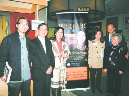 预演引轰动影片《张纯如》将在加拿大全球首映