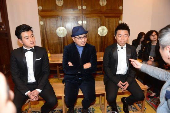 """徐峥,黄渤,佟大为都出席了基美""""聚""""电影人晚宴,并对未来的合作表示恐怖电影制造厂3图片"""