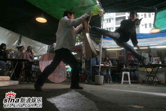 组图:甄子丹主演电影《导火线》火爆激斗剧照