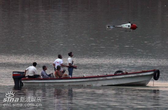 揭秘《赤壁》草船借箭不成航拍飞机坠毁(组图)