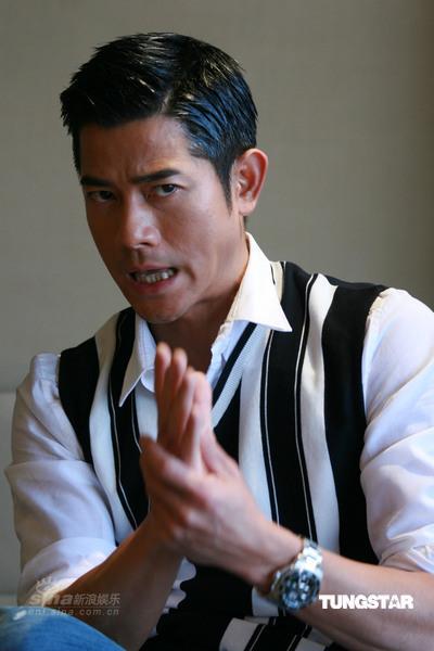 组图:《C+侦探》首映郭富城手舞足蹈表情丰富