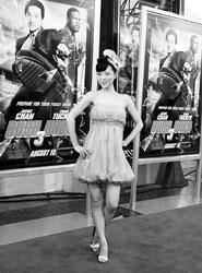《尖峰时刻3》洛杉矶首映张静初惊艳好莱坞