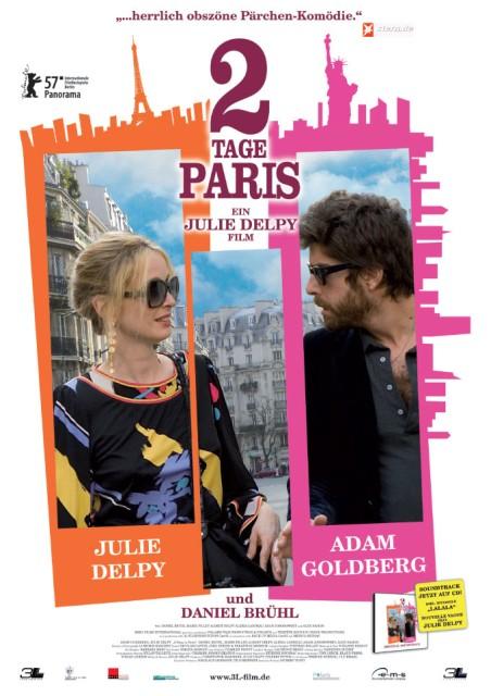 朱莉-德尔佩喜剧片《巴黎两日情》好莱坞首映