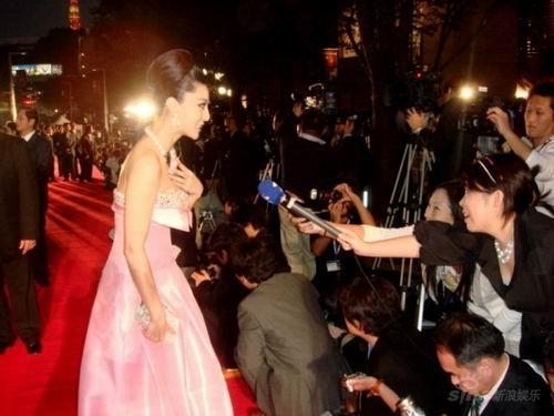 范冰冰东京电影节抢尽风头开幕式被赞最美(图)