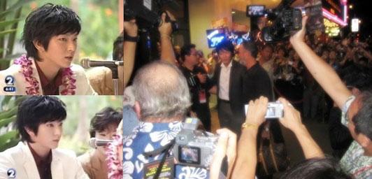 李俊基获夏威夷新星奖写博客谢世界影迷(附图)