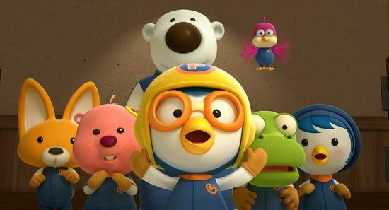 《波鲁鲁冰雪大冒险》讲述小企鹅波鲁鲁和朋友们勇闯冰雪世界赛车比赛