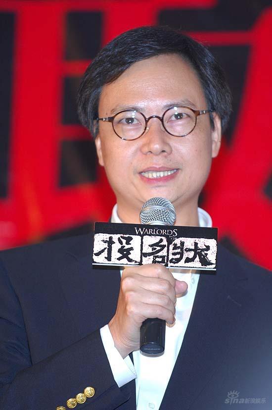 图文:《投名状》新浪官网开通寰亚CEO庄澄发言