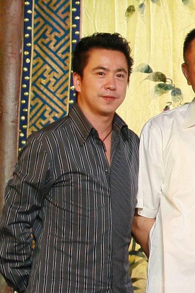 图文:《梅兰芳》开机发布会--华谊总裁王中磊