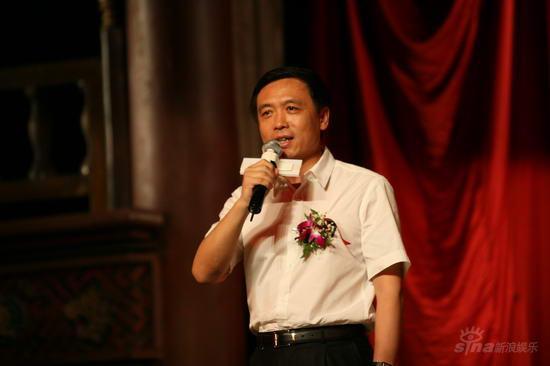 图文:《梅兰芳》发布会--广电总局副局长张宏森