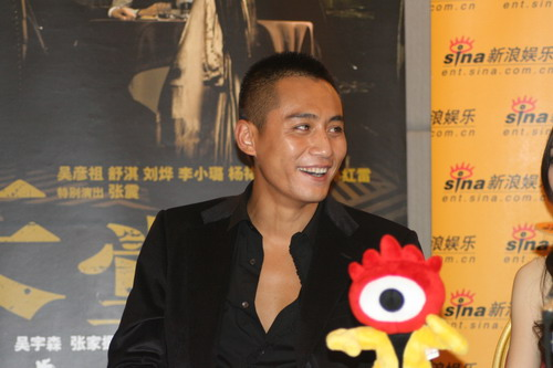 图文:《天堂口》主创聊天刘烨对自己表演满意