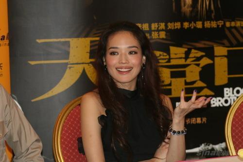 图文:《天堂口》主创聊天舒淇谈首次电影跳舞
