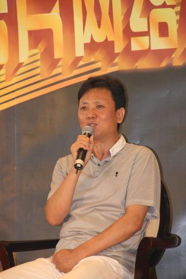 图文:冯小刚公益短片发布会--樊献勇谈公益