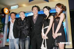 组图:《色,戒》台湾隆重首映李安获妈妈力撑