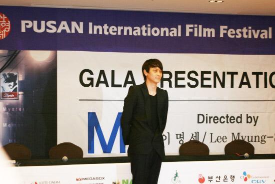 图文:电影《M》发布会--姜东元登场