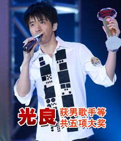 光良获新城国语力男歌手等共5项大奖