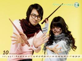 组图:赵仁成具惠善可爱墙纸变身超级魔法学生