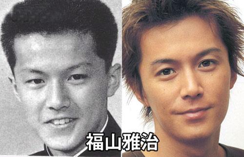 日本男星们的整容比拼--福山雅治