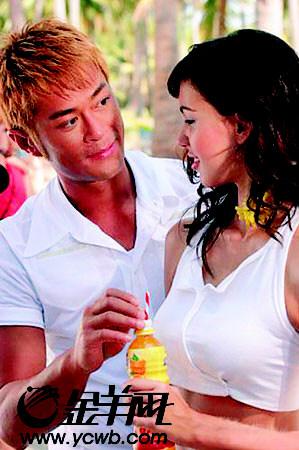 古天乐泰国拍广告开沙滩派对担心椰子砸头(图)