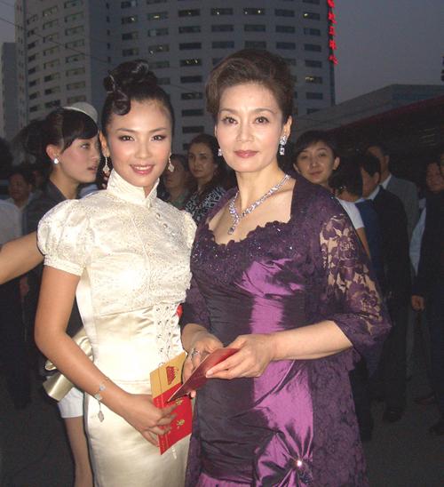 刘涛献唱五个一工程典雅亮相颁奖晚会(组图)