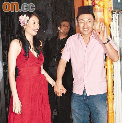 张桑悦杨哲安普吉岛结婚舒淇吴佩慈到场祝贺
