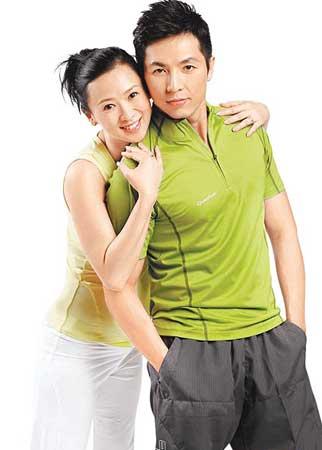 翁虹在北京剖腹产女女儿鼻梁高挺像爸爸(组图)