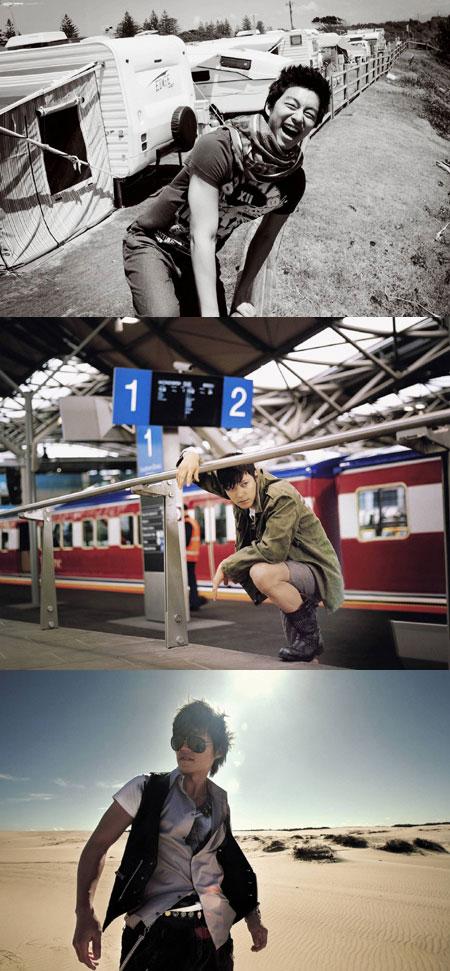 李瑞镇姜东元等拍写真澳洲取景异域风情(附图)