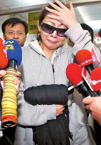 林晓培醉驾遭起诉台北检方要求判刑14个月(图)