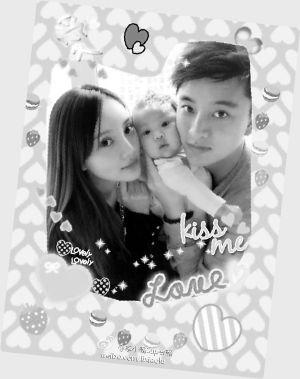 李小璐和贾乃亮常常在微博秀出一家三口亲密照图片