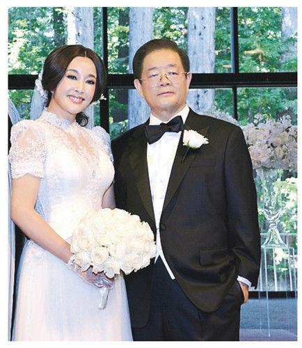 刘晓庆美国结婚_刘晓庆美国完婚与新郎拥吻