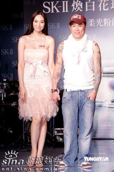 组图:美女吴佩慈倪雅伦出席焕白花珠肌时尚派对