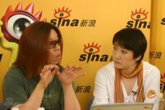 组图:成方圆郭峰等歌手新浪聊天呼吁规范市场