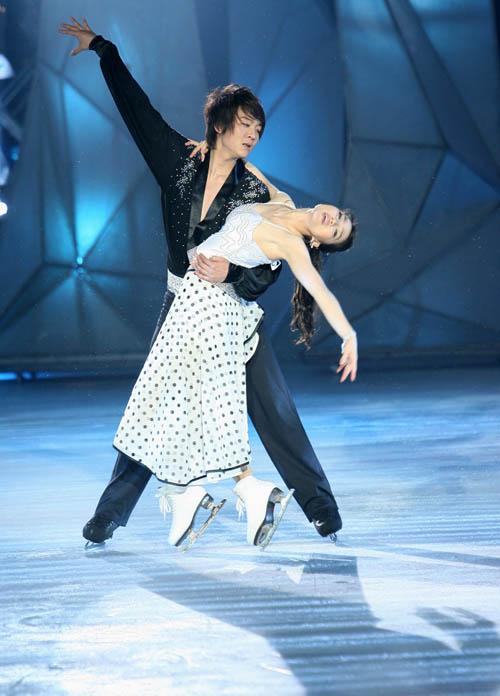 图文:《明星大练冰》复赛第四场(3)