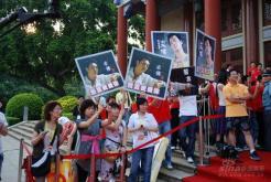 组图:粤港十年网娱盛典颁奖香港小姐美丽助阵