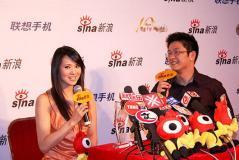 2007粤港十年・网娱盛典后台明星专访实录(图)