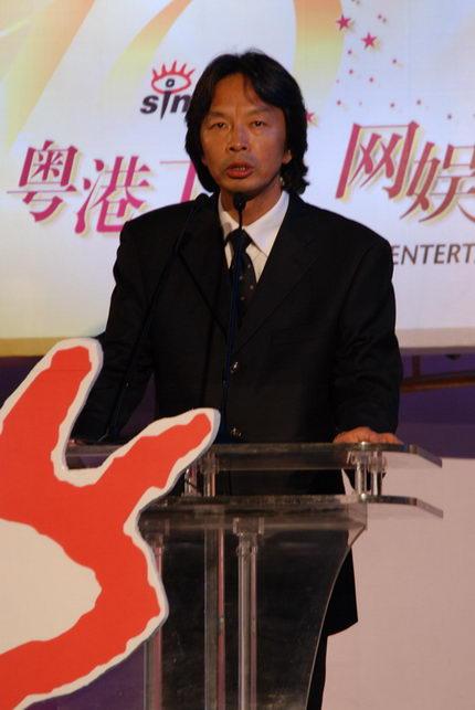 图文:知名作家刘震云担任颁奖嘉宾