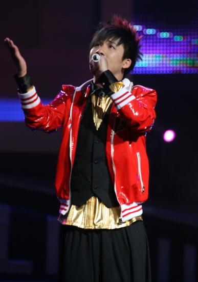 2008网络盛典晚会 花儿乐队演唱歌曲