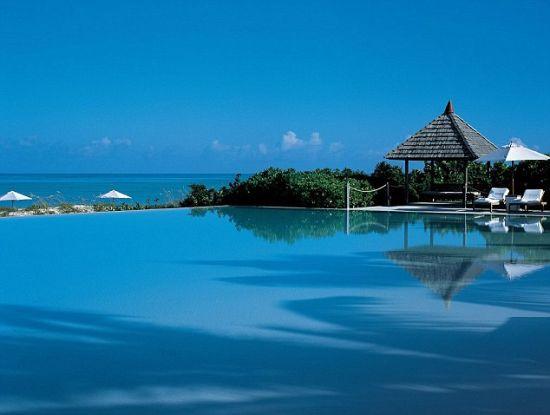 度假海岛风景优美