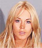 组图:外国艺人警局登记照曝光希尔顿最有姿色