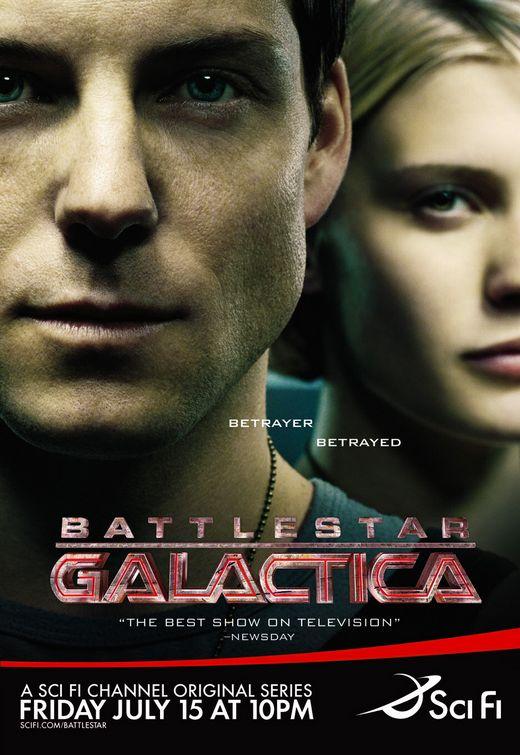 资料图片:美剧海报欣赏--《太空堡垒卡拉狄加》
