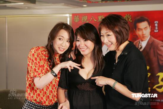 《换子成龙》华视首播众主演出席发布会(组图)