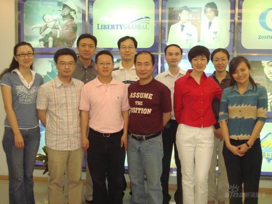 第七届传媒高级管理人员培训学员启程赴美(图)