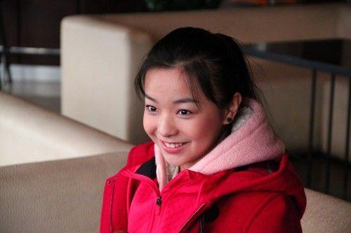 中国达人秀微笑女孩王君如冲刺备战(图)
