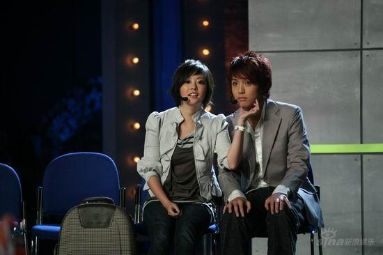 图文:2007我型我秀总决选--张小珏与郜晓晨