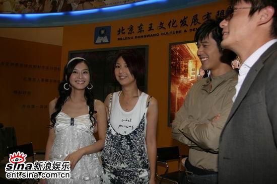 2006年国际影视节目展现场 武十郎 主演